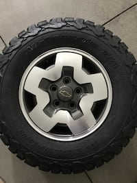 Chevy rims 585 km