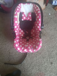 Mini mouse baby car seat