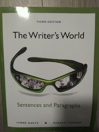 The Writer's World - Sentences and Paragraphs - th Mississauga, L5G 1C3