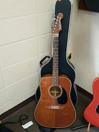 Fender Newporter Acoustic Guitar With Case