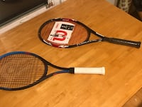 2 Tennis Racket ST ANTHNY VLG, 55418