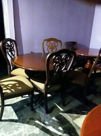 Table 5 chairs