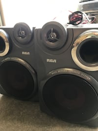 Speakers  RCA Bass Reflex System Ash Grove, 65604