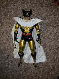"""12"""" Wolverine figure with usually missing cape ,rare Yonkers, 10708"""