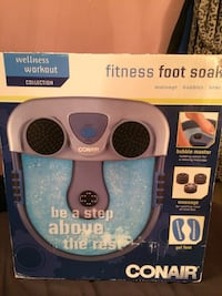 CONAIR HEATED FOOTBATH WITH MASSAGE NEVER USED London, N6C 1J5