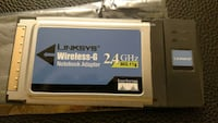 Linksys Wireless-G Notebook Adapter - $5 Sterling, 20166