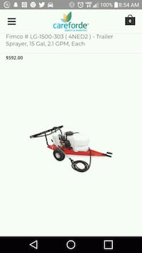 red and black push mower High Point