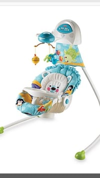 Fisher Price swing - Precious Planet - Barely used 773 km