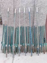 Metal stakes 40 pieces in total