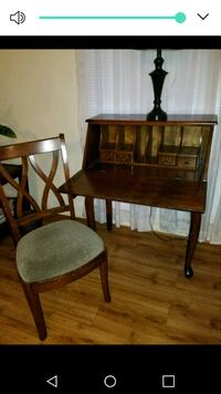 brown wooden table and chair set 1188 mi