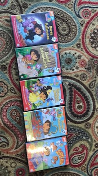 Five dora the explorer dvd cases