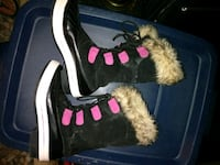 Nice n warm Girls winter boots size 3 Toms River, 08755