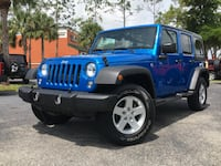 2016 Jeep Wrangler Unlimited Sport 4WD Blue Fort Myers