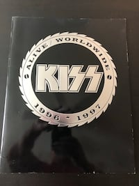 KISS concert program from 1996 Mesa, 85210