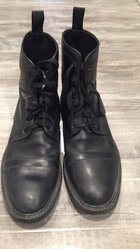 Men's Italy Leather Boots Size 10.5 Vienna, 22181