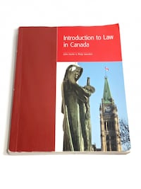 Introduction to Law in Canada Mississauga, L5A