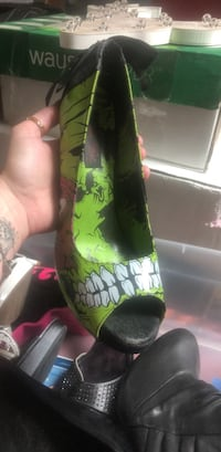 Super cute Iron fist zombie heels Harvey, 70058