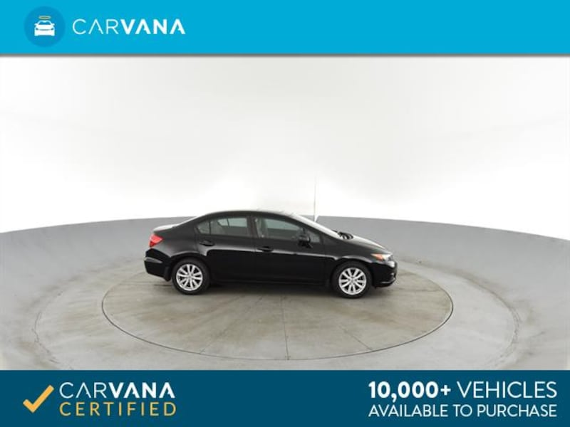 2012 Honda Civic sedan EX Sedan 4D Black <br /> 9