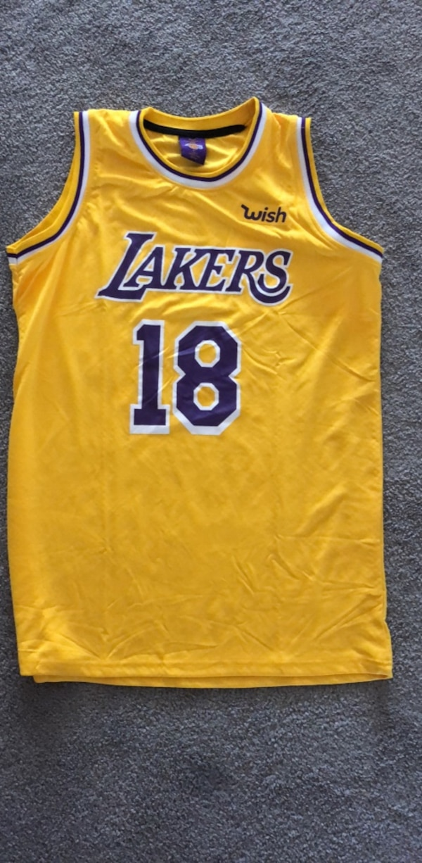 check out 29864 6bfc4 2018-2019 Wish Lakers Jersey XL