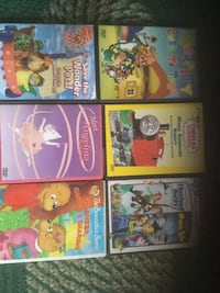 six assorted DVD movie cases Dartmouth, B2Y 3V9