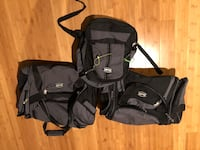 Suitcases and travel bags $10 each