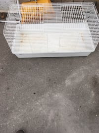 white and gray metal pet cage Steinbach, R5G 0X6