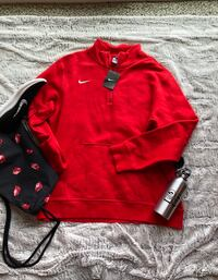New with Tags Red and black nike zip-up jacket Bowie, 20720