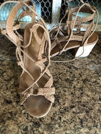 Lace up sandals (size 7)  Martinsburg, 25401