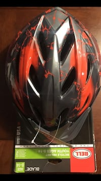 Bell youth helmet ages 8- Fontana, 92337