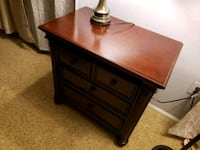 brown wooden 2-drawer nightstand Silver Spring, 20904