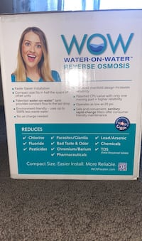 Wow water on water reverse osmosis
