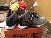 Andi gray, black, & white high cut shoes ( brand new with tag ( pls slide to see other photo ) Calgary, T2J