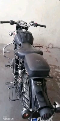 black and gray standard motorcycle Hyderabad
