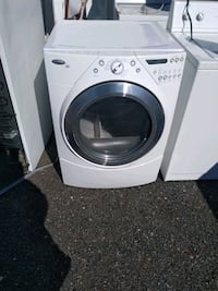 Whirlpool duet heavy duty dryer works good free delivery 6-month warra Prince George's County, 20746