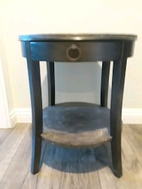 black and brown wooden side table Coto de Caza, 92679