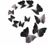 Butterflies set of 12 comes with magnet and sticky's to put on wall Vaughan, L6A 1S6