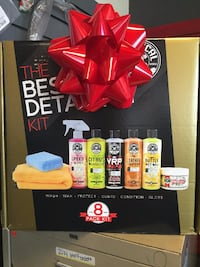 "CHEMICAL GUYS ""THE BEST DETAILING KIT"""