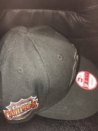 black and red Chicago Bulls fitted cap Taylor, 48180