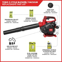 Toro 150 MPH 460 CFM 25.4cc 2-Cycle Handheld Gas Leaf Blower Vac Toronto