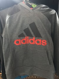 Gray and red adidas sweater  Vaughan, L4L 2T4