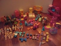 assorted plastic toy collection lot Elizabethton, 37643
