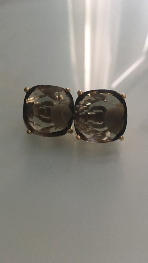Used Gray Kate Spade Clip On Earrings For Sale In West Newbury Letgo