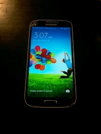 Samsung s4 I believe unlocked but works great $60