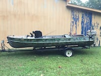 Get off land and into the water needs a home 14ft 25hp will trade