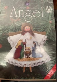 Angel ornament cross stitch