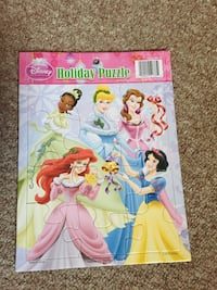 Disney princess holiday puzzle Sterling, 01564