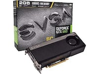 EVGA GEForce 2048G DDR 5, open box, unused Rocky Hill, 06067
