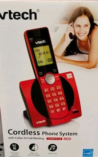 red and black Vtech wireless telephone Fresno, 93710