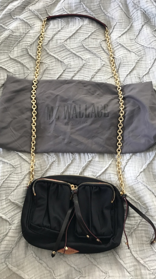 f2d0f24988eb Used MZ Wallace crossbody bag in black for sale in New York - letgo