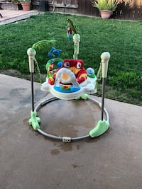 baby's white and green jumperoo West Covina, 91791